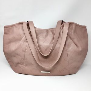 BCBG MaxAzria Mauve Tote Shoulder Bag Purse